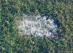 Carrie Ella <i>Libby</i> Merrill