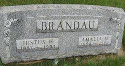 Amalia M. <i>Wohlers</i> Brandau