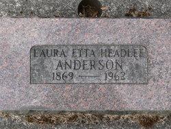Laura Etta <i>Headlee</i> Anderson