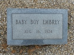 (Stillborn Son) Embrey
