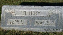 Mary J <i>Rospert</i> Thiery