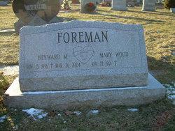Mary <i>Wood</i> Foreman
