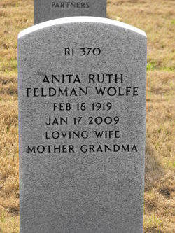 Anita Ruth Feldman Wolfe