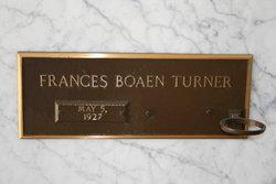 Frances Elizabeth <i>Boaen</i> Turner