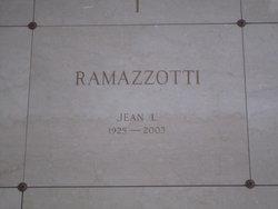 Jean <i>Levy</i> Ramazzotti