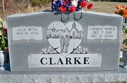 Carmen Wayne Whick Clarke