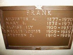 Augustus A. Frank