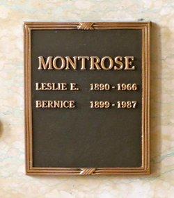 Leslie Ethelbert Montrose