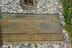 Warren Henry Ahrens