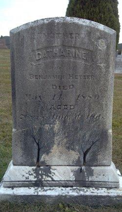 Catherine Kate <i>Martz</i> Hetler