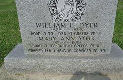 Mary Ann <i>York</i> Dyer