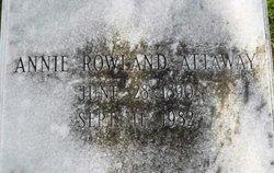 Annie <i>Rowland</i> Attaway