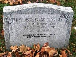 Rev Frank T. Dirksen