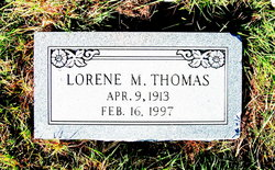 Lorene M. Thomas