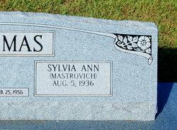 Sylvia Ann <i>Mastrovich</i> Thomas