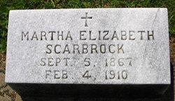 Martha Elizabeth Scarbrock
