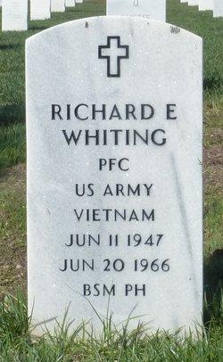 PFC Richard Edward Whiting