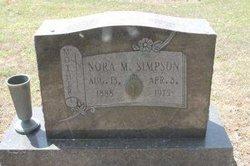 Nora Mable <i>Chaddick</i> Simpson