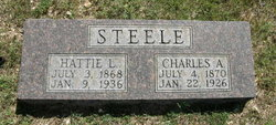 Harriett L. Hattie <i>Sandridge</i> Steele