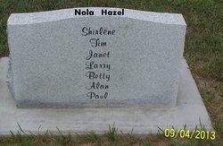 Nola RaNae <i>Kelsey</i> Hazel