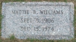 Mattle L <i>Byrd</i> Williams