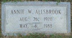 Annie Magnolia <i>Wommack</i> Allsbrook
