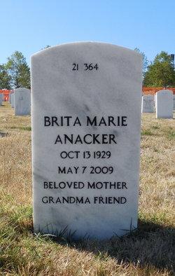 Brita Marie Anacker