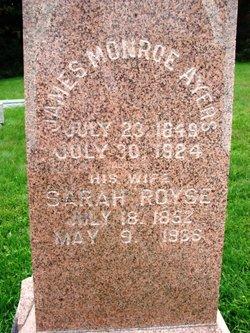 Sarah <i>Royse</i> Ayers