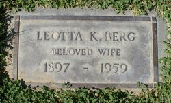 Leotta Kathryn <i>Garman</i> Berg
