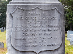 Susan R <i>Dobbins</i> Chase