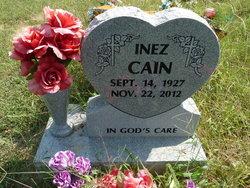 Inez <i>Daniels</i> Cain