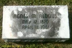 Agnes M <i>Lancour</i> Aldous