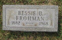 Bessie D. <i>Miller</i> Frohman