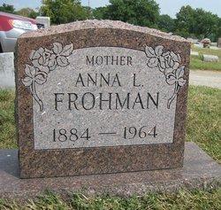 Anna Belle <i>Landes</i> Frohman