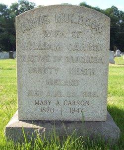 Anne <i>Muldoon</i> Carson