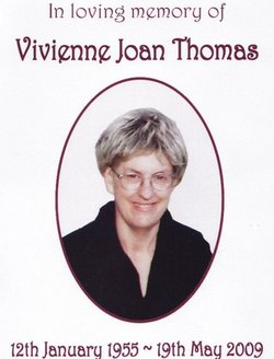 Vivienne Joan Bib <i>Wood</i> Thomas