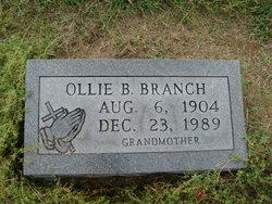 Ollie B Branch