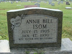Annie Bell Isom