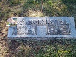 Mabel F <i>McCurry</i> Barnes