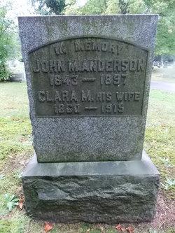 Clara M Anderson