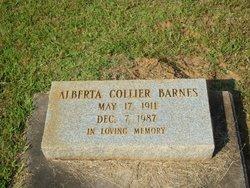 Alberta <i>Collier</i> Barnes