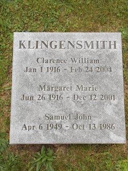 Margaret Marie <i>Lange</i> Klingensmith