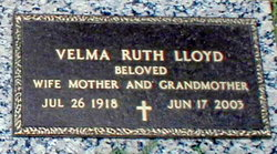 Velma Ruth <i>Cole</i> Lloyd