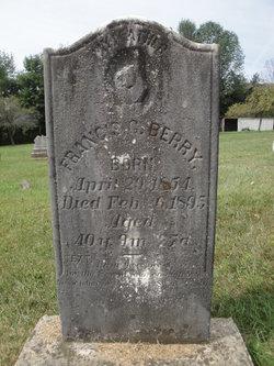 Francis C Berry