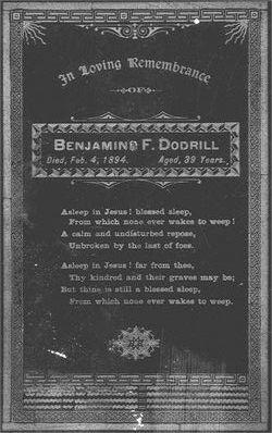 Benjamin Franklin Dodrill