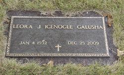Leora J <i>Icenogle</i> Galusha