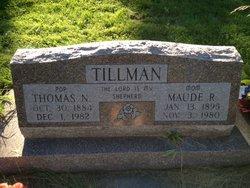 Maude M. Tillman