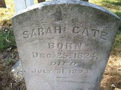 Sarah <i>Davis</i> Cate