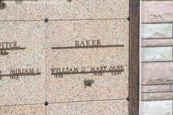 Mary Jane <i>Bechtol</i> Baker