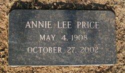 Anna Lee Annie <i>McShan</i> Price